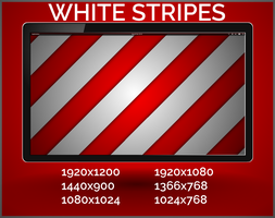 White stripes by purvaldur