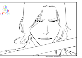 Bleach lineart 456 by hakimbo