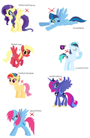 auction ponies 1 left by woofwoofsg1