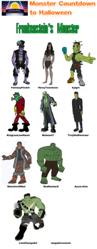 LKHFF MCTH 2 - Frankenstein's Monster Compilation by HewyToonmore