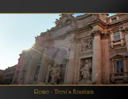 Rome Anthology - Trevi by Geanfrancois