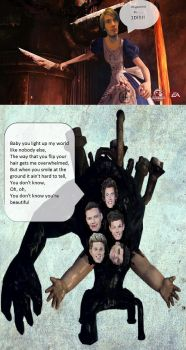 PewDiePie and the 1D monster!!!!!!!!! by chiharuthebeast