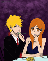 Ichihime Dinner: Color Version by RomaniaBlack