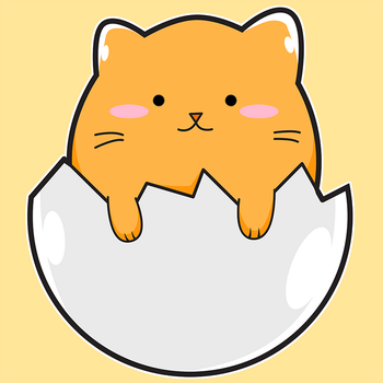 Cat Egg by Catifornia