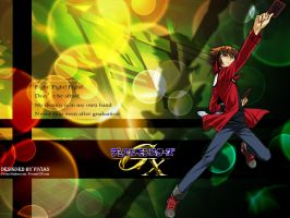 10th Anime Wallpaper - Judai by Fivian