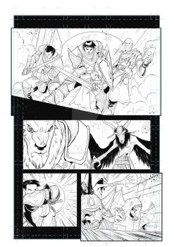 Pathfinder - Wrath of the Righteous comic page 01 by MariodelPennino
