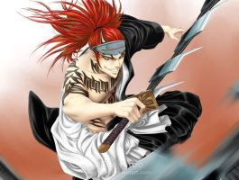 BLEACH - Abarai RENJI by Washu-M