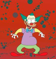 Krusty the clown by Makinita