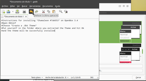 Chamaleon GTK and OpenBox Themes by SNOBAwM