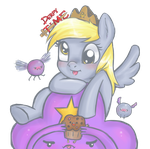 Derpy TIME! and Lumpy Space Princess of course... by tanyamya