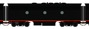 Southern Pacific Black Widow F7s Sprite by RailToonBronyfan3751