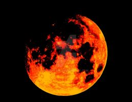Red Moon #1 by Wileybill