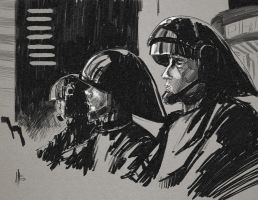 Imperial Guards by feeesh
