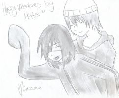 Happy Valentine's Day Akito by KDElive