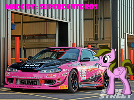 Abigail Lowe and her Nissan Siliva S15 by superdentbros