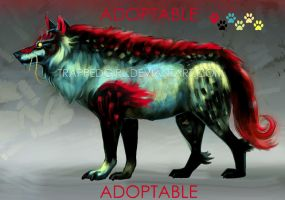 Wolf Adopt: OPEN 2000 points by TrappedGirl