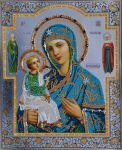Jerusalem icon of the Blessed Virgin Mary by feafox92