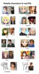 [APH] Third 12 Hetalia characters in real life by PepeBezFetory