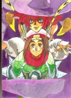 Red Earth Mai Ling and Tessa by demonjester55