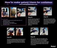 Galaxy Claw Tutorial by stuffedpanda-cosplay