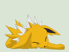 Pokemon Base 133~Jolteon 2~ by Xbox-DS-Gameboy