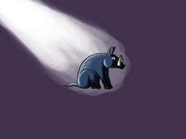 Lonely Boar by eviloatmeal