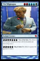 My Vic Mignogna MTG Card. by mistylovesrocklee