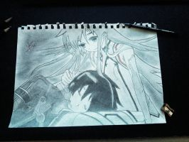 Kirito and Asuna, Sword Art Online! by Nicco00Hope