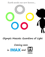 Olympic Mascots: Guardians of Light Movie Poster 1 by Josh0108
