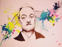 Bill Murray by cosmogurl