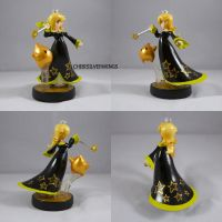 Rosalina Black Dress Alt Gold Luma by ChibiSilverWings