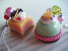 Sweet Cakes Mobile Charms by Cinnamonster