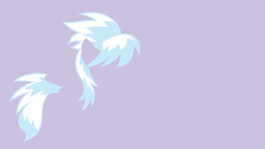 My Minimal Pony: Request - Cloudchaser by UtterlyLudicrous