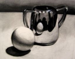 2 hour still life - reflective surfaces by agfrx7