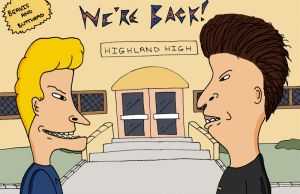 Beavis and Butthead are back by 2d-Matty