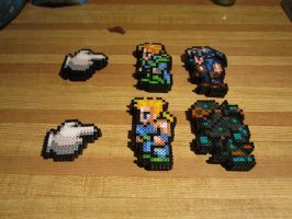 FF pointers and FFVI characters by Bobbeyjazz