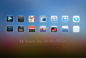 14 Icons by mohoffson