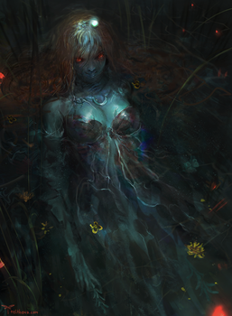 Undead Ophelia by telthona