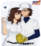 Ace of Diamond-Give him back that ball by Purrinee