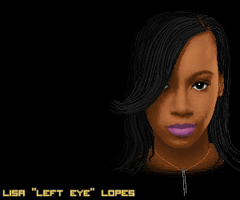 'Left Eye'  Pixel by Vectorixelz