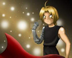 Edward Elric Poster by dimensioncr8r