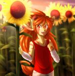 Sunflowers by FlippingChicken