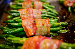 Bacon Wrapped Green Beans by Monkeyboy41