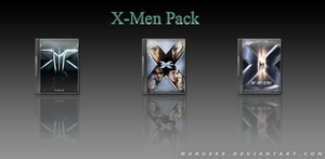 X-Men Pack by manueek