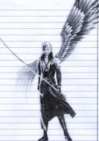 Sephiroth doodling by NemeaBeing