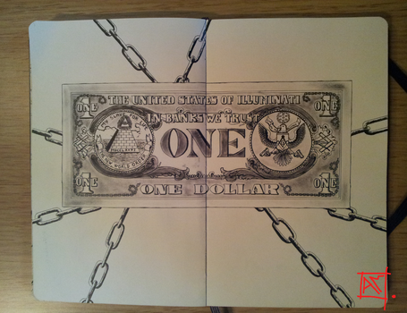 Moleskine Doodle-Slavery contract by Radical1981