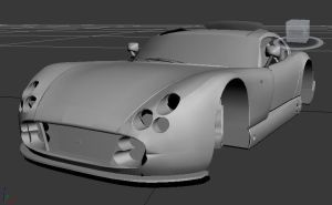 my car under construction by michaelvr4