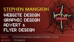 Personal Business Card - FRONT by mangion