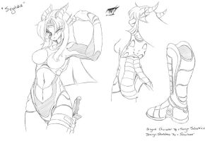 Sega Design Sketches by Shnider