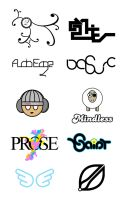 Selected Logotypes by Famous